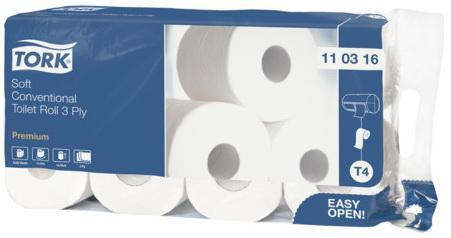 купить Бумага туалетная Tork Premium 3-ех слойная 8 шт недорого