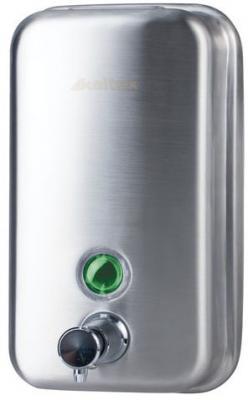 Диспенсер для жидкого мыла KSITEX, наливной, нержавеющая сталь, матовый, 0,8 л, SD 1618-800 M диспенсер для мыла axentia nero 131056 черный 300 мл