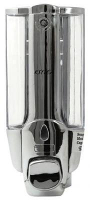 Диспенсер для жидкого мыла KSITEX, наливной, хромированный, 0,3 л, SD 1628К-300 диспенсер для мыла axentia nero 131056 черный 300 мл