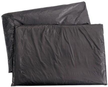 Мешки для мусора, 160 л, черные, в пачке 5 шт., ПВД, 65 мкм, 90х120 см, особо прочные, КОНЦЕПЦИЯ БЫТА