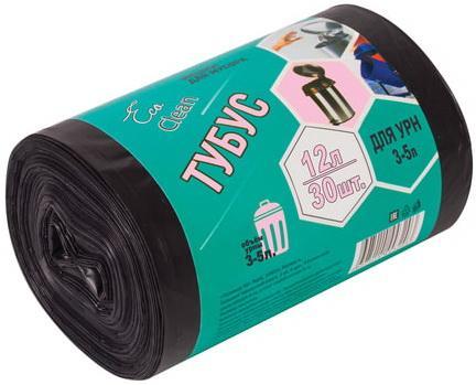 Фото - Мешки для мусора 12 л, черные, в рулоне 30 шт., ПНД, 6 мкм, 32х55 см, для урн, d - 20, h - 26, КОНЦЕПЦИЯ БЫТА Tubus, 3255 мешки для урн черные в рулоне 30 шт 12 л 32х55 см диаметр 20 см высота 26 см кб tubus 3255
