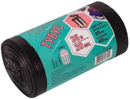 Фото - Мешки для мусора 35 л, черные, в рулоне 20 шт., ПВД, 25 мкм, 42х70 см, для урн, d - 25, h - 40, КОНЦЕПЦИЯ БЫТА Tubus, 3217 мешки для урн черные в рулоне 30 шт 12 л 32х55 см диаметр 20 см высота 26 см кб tubus 3255
