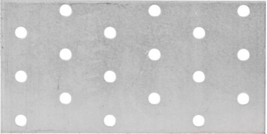 Пластина соединительная 60х120 х 2мм, 20шт, ЗУБР цена