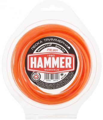 Леска для триммеров Hammer 216-801 hammer nap 200a 16