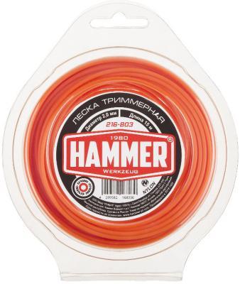 Леска для триммеров Hammer 216-803 hammer nap 200a 16