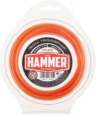 Леска для триммеров Hammer 216-805 hammer nap 200a 16
