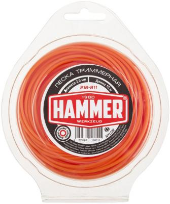 Леска для триммеров Hammer 216-811 hammer nap 200a 16