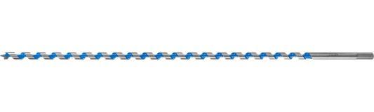 Сверло по дереву, спираль Левиса, HEX хвостовик, ЗУБР Эксперт 2948-600-14, d=14х600мм сверло по дереву спираль левиса hex хвостовик зубр эксперт 2948 235 08 d 8х235мм