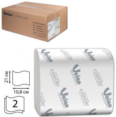 Бумага туалетная VEIRO PROFESSIONAL Comfort (L1) 2-ух слойная 30 шт