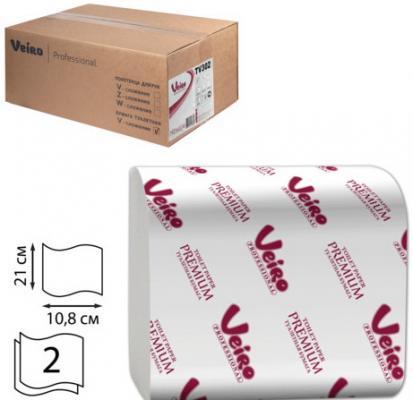 Бумага туалетная VEIRO PROFESSIONAL Premium (L1) 2-ух слойная 30 шт бумага туалетная мягкий знак deluxe 2 ух слойная без отдушки 4 шт
