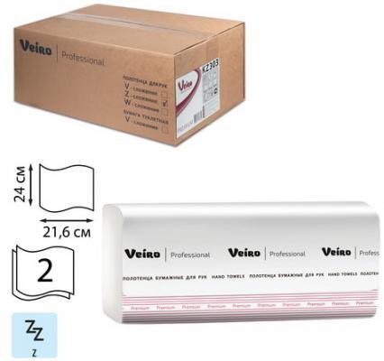 Салфетки бумажные VEIRO PROFESSIONAL Premium 2-ух слойная 21 шт