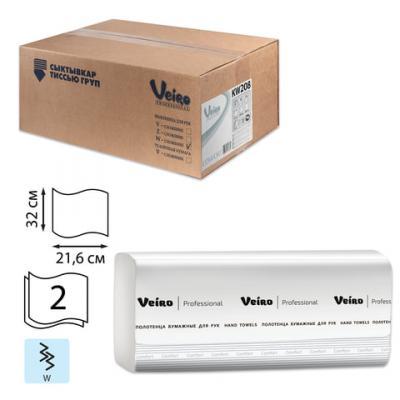 Полотенца бумажные VEIRO PROFESSIONAL Comfort 2-ух слойная 150 шт