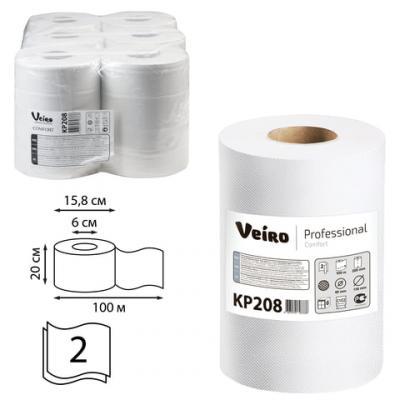 Полотенца бумажные VEIRO PROFESSIONAL Comfort 2-ух слойная 6 шт