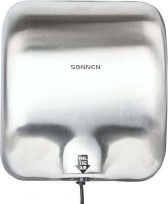 Сушилка для рук Sonnen HD-999 серебристый цена и фото
