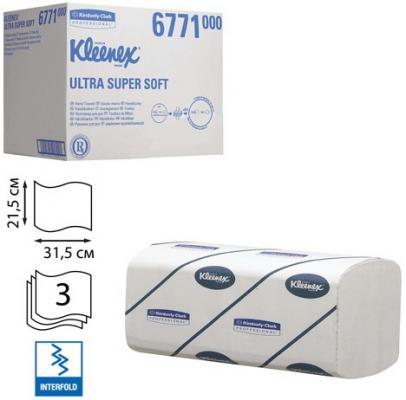купить Полотенца бумажные KIMBERLY-CLARK Kleenex 3-ех слойная 96 шт недорого