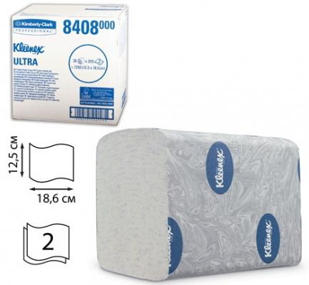 Бумага туалетная KIMBERLY-CLARK Kleenex, комплект 36 шт., Ultra, листовая, 200 л., 18,6х12,5 см, 2-слойная, диспенсер 601545, 8408 sits стул clark