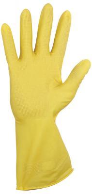 Перчатки хозяйственные резиновые YORK, суперплотные, с х/б напылением, рифленая ладонь, размер M (средний), 92020 чемодан средний m best bags il mondo 1333 60 б 13330460