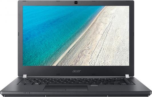 Ноутбук Acer TravelMate TMP449-G3-MG-573P Core i5 8250U/8Gb/1Tb/SSD128Gb/nVidia GeForce Mx130 2Gb/14/IPS/FHD (1920x1080)/Linux/black/WiFi/BT/Cam/3220mAh