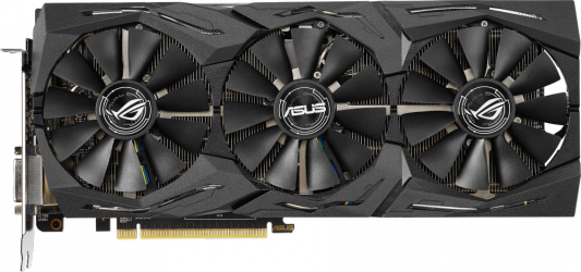 Видеокарта Asus PCI-E ROG-STRIX-RX590-8G-GAMING AMD Radeon RX 590 8192Mb 256bit GDDR5 1545/8000 DVIx1/HDMIx2/DPx2/HDCP Ret цена в Москве и Питере