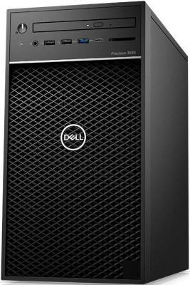 PRECISION T3630 MT, E-2136 (3.3GHz, 8MB, 6C), 16GB (2x8GB) 2666MHz DDR4 Non ECC, 256GB SSD, DVD-RW, 4GB NVIDIA Quadro P1000(4mDP), Win10 Pro, keyboard, mouse, 3Y Basic NBD ноутбук dell precision 7520 7520 8017 i7 7820hq 2 9 16gb 2tb 256gb ssd 15 6 fhd ips quadro m2200 4gb win10 pro black