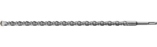 Бур ЗУБР ПРОФЕССИОНАЛ по бетону, хвостовик SDS-Plus, самоцентрирующий наконечник, спиральS4, 16х450мм бур зубр профессионал по бетону хвостовик sds plus самоцентрирующий наконечник спиральs4 14х1000мм