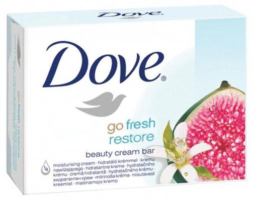 Мыло твердое Dove Инжир и лепестки апельсина 135 г мыло dove пробуждение чувств 100 г