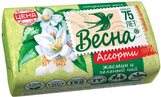 Мыло твердое ВЕСНА Жасмин и зелёный чай 90 гр