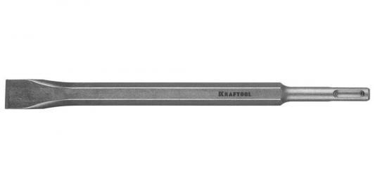 KRAFTOOL ALLIGATOR SDS-plus Зубило плоское 20 х 250 мм зубило плоское зубр для перфораторов sds plus 29362 20 250