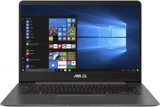 Ноутбук ASUS Zenbook UX430UN-GV191T 14 1920x1080 Intel Core i7-8550U 512 Gb 16Gb nVidia GeForce MX150 2048 Мб серый Windows 10 Home 90NB0GH1-M05400 ноутбук asus vivobook s15 s510un bq219t 15 6 1920x1080 intel core i5 8250u 1 tb 6gb nvidia geforce mx150 2048 мб серый windows 10 home 90nb0gs5 m03170