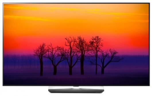 Телевизор LG OLED65B8SLB черный серебристый телевизор lg 55uk7500plc серебристый