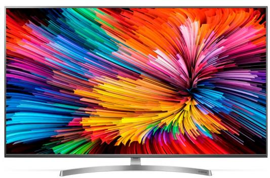 Телевизор LG 49SK8100PLA серебристый телевизор lg 55uk7500plc серебристый