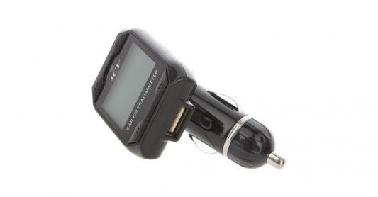 Автомобильный FM-модулятор ACV FMT-115 черный MicroSD USB PDU (26563) ritmix fmt a745 black fm модулятор