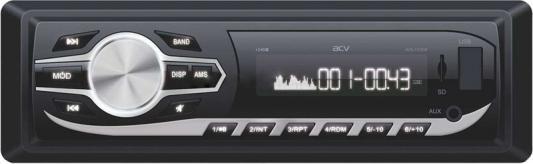 Автомагнитола ACV AVS-1724W 1DIN 4x45Вт автомагнитола acv avs 1715g 1din 4x45вт
