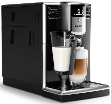 Кофемашина Philips Series 5000 серебристо-черный EP5040/10