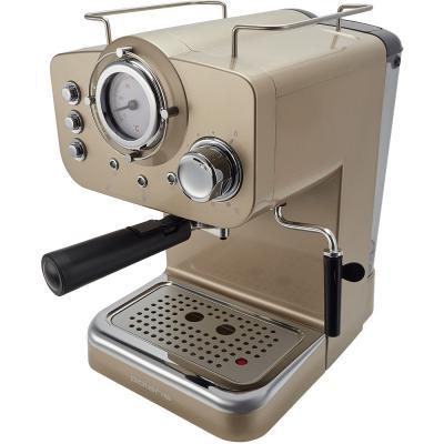 Кофеварка эспрессо Polaris PCM 1532E 1100Вт шампань кофеварка polaris pcm 1526e шампань