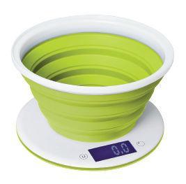 Весы кухонные StarWind SSK5575 белый зелёный