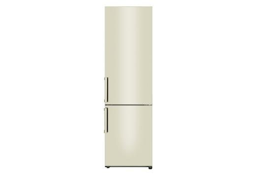 Холодильник LG GA-B509BEJZ бежевый холодильник lg gr h802hehz бежевый