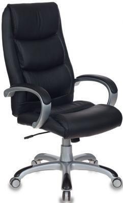 Кресло руководителя Бюрократ CH-S840N/BLACK черный искусственная кожа (пластик серебро) кресло руководителя бюрократ ch 824 black
