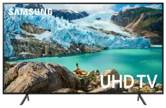 "Телевизор LED Samsung 75"" UE75RU7100UXRU серебристый/CURVED/Ultra HD/1400Hz/DVB-T2/DVB-C/DVB-S2/USB/WiFi/Smart TV (RUS) купить недорого в Москве"