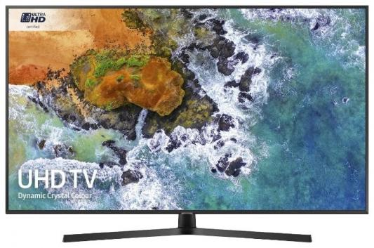 "Телевизор LED Samsung 50"" UE50RU7400UXRU титан/Ultra HD/200Hz/DVB-T2/DVB-C/DVB-S2/USB/WiFi/Smart TV (RUS) все цены"