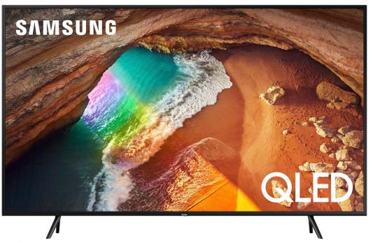 Телевизор QLED Samsung 49 QE49Q60RAUXRU титан/Ultra HD/1000Hz/DVB-T2/DVB-C/DVB-S2/USB/WiFi/Smart TV (RUS) samsung 32 ue32n5000auxru черный full hd 200hz dvb t2 dvb c usb rus