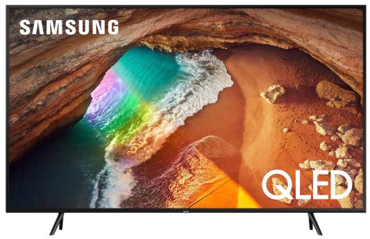 "Телевизор QLED Samsung 65"" QE65Q60RAUXRU серебристый/Ultra HD/1400Hz/DVB-T2/DVB-C/DVB-S2/USB/WiFi/Smart TV (RUS) цена и фото"
