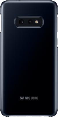 Чехол (клип-кейс) Samsung для Samsung Galaxy S10e LED Cover черный (EF-KG970CBEGRU) чехол клип кейс samsung для samsung galaxy s10e silicone cover розовый ef pg970thegru