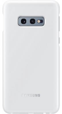 Чехол (клип-кейс) Samsung для Samsung Galaxy S10e LED Cover белый (EF-KG970CWEGRU) аксессуар чехол для samsung galaxy s10e led cover white ef kg970cwegru