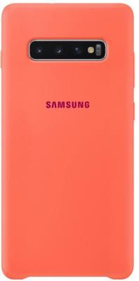 цена на Чехол (клип-кейс) Samsung для Samsung Galaxy S10+ Silicone Cover розовый (EF-PG975THEGRU)