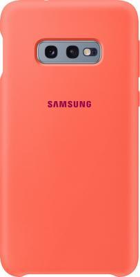 Чехол (клип-кейс) Samsung для Samsung Galaxy S10e Silicone Cover розовый (EF-PG970THEGRU)