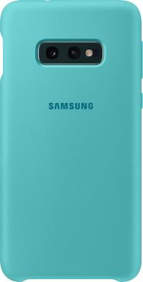 Чехол (клип-кейс) Samsung для Samsung Galaxy S10e Silicone Cover зеленый (EF-PG970TGEGRU) цена и фото