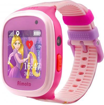 """Смарт-часы Кнопка Жизни Disney Принцесса Рапунцель 1.44"""" TFT розовый (9301104) все цены"""