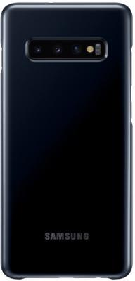Чехол (клип-кейс) Samsung для Samsung Galaxy S10+ LED Cover черный (EF-KG975CBEGRU) клип кейс samsung dual layer ef pj330 для galaxy j3 2017 голубой
