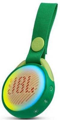 лучшая цена Колонка порт. JBL JR Pop зеленый 3W 1.0 BT/USB 650mAh (JBLJRPOPGRN)